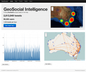 GeoSocial Intelligence